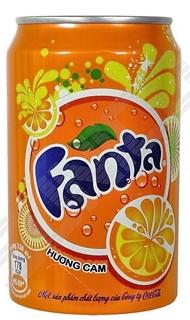 Fanta Portakal 330 ml ürün resmi