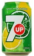 Resim 7up Limon Aromalı Gazoz 330 Ml