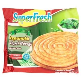 Superfresh Derin Dondurulmuş Ispanaklı Tepsi Böreği 800 gr ürün resmi