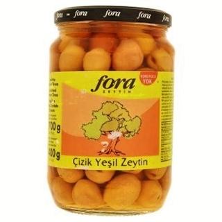 Fora Çizik Yeşil Zeytin 400 gr ürün resmi