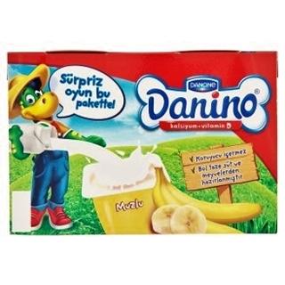 Danone Danino Muzlu Vitaminli Taze Peynir 6 x 40 gr ürün resmi