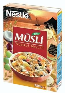 Nestlé Tropikal Meyveli Müsli 350 gr ürün resmi