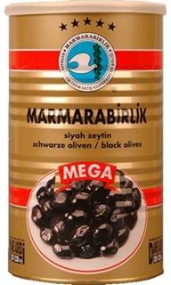 Marmarabirlik Sofralık Salamura Siyah Zeytin 800 Gr ürün resmi