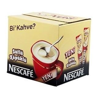 Nescafé 3 ü 1 Arada Sütlü Köpüklü 48 Adet ürün resmi