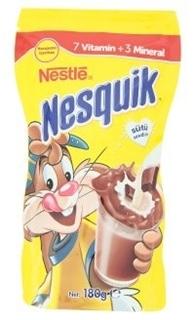 Nestlé Nesquik Vitaminli Mineralli Çikolatalı İçecek Tozu 180 gr ürün resmi