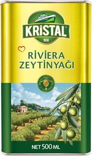Kristal Riviera Zeytinyağı Teneke Kutu 500 Ml ürün resmi