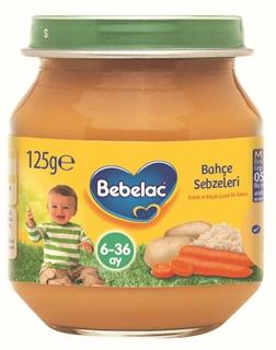 Bebelac Nutricia Bahçe Sebzeleri 6-36 Ay 125 gr ürün resmi