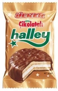 Halley Çikolata Kaplı Bisküvi 30 Gr ürün resmi