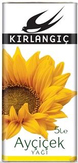 Kırlangıç Ayçiçek Yağı 5 lt ürün resmi