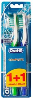 Oral-B Diş Fırçası Complete Ekstra Uzun Kıllar 40 Orta 1 Alana 1 Bedava Paketi ürün resmi