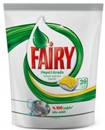 Resim Fairy Hepsi Bir Arada Bulaşık Makinesi Deterjanı Kapsülü Limon Kokulu 36 Yıkama