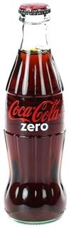 Coca Cola Zero Cam 250 ml ürün resmi