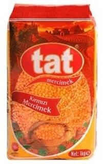 Tat Mercimek Kırmızı 1 Kg ürün resmi