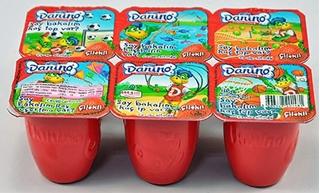 Danino Yoğurt 6 lı Çilekli Yoğurt ürün resmi