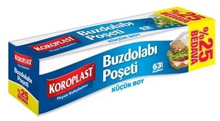 Koroplast Buzdolabı Poşeti Küçük Boy 20 x 30 cm 63 Adet ürün resmi