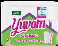 Picture of Komili Yuvam Kağıt Havlu 6 Rulo