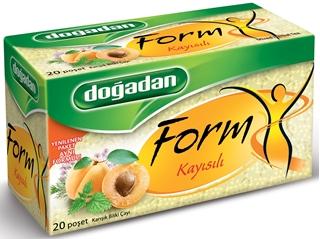 Doğadan Form Kayısılı Karışık Bitki Çayı 20 Poşet 40 gr ürün resmi