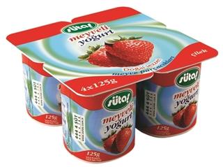 Picture of Sütaş Meyveli Çilekli Yoğurt 4X115 Gr