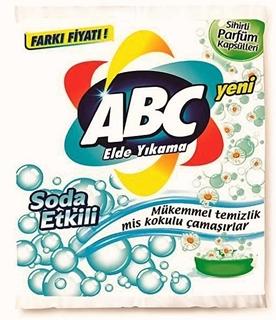 Abc Elde Yıkama Toz Deterjanı Soda Etkili 600 gr ürün resmi