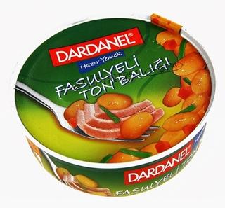 Dardanel Fasülyelı Ton 185gr ürün resmi