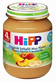 Hipp Organik Şeftalili Muz Püresi 125 gr ürün resmi