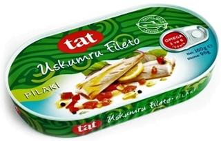 Tat Uskumru Fileto Pilaki 160 gr ürün resmi