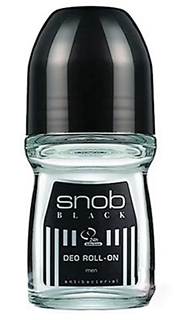 Snob Black 50 Ml Roll-On Deo ürün resmi