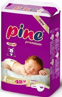 Pine Yenidoğan 42 Li İkiz Paket Bebek Bezi ürün resmi