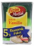 Resim Bizim Mutfak Şekerli Vanilin 5 x 5 gr