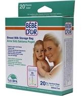 Resim Bebedor Anne Sütü Saklama Poşeti 20 Adet