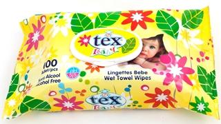 Tex Baby Islak Havlu (Kapaklı) 100 lü ürün resmi