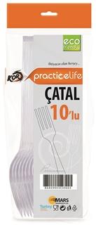 Practicelife Premium Çatal 10'lu ürün resmi
