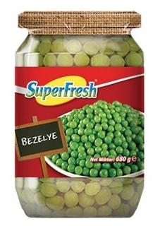 Superfresh Bezelye Cam 680 gr ürün resmi
