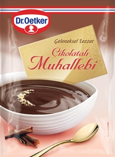 Dr. Oetker Çikolatalı Muhallebi 215 Gr ürün resmi