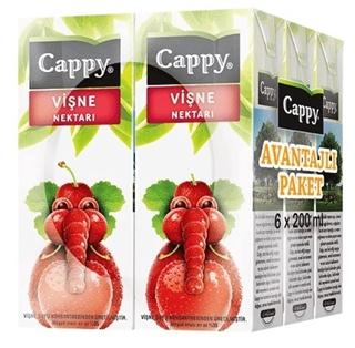 Cappy Vişne 6'lı ürün resmi