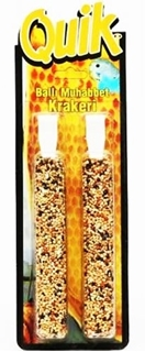 Quik Muhabbet Kuşu Yemi Ballı Kraker 2'li ürün resmi
