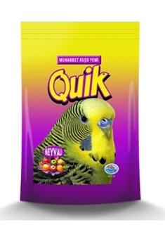 Quik Muhabbet Kuşu Yemi Meyveli 400 gr ürün resmi