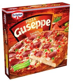 Dr. Oetker Pizza Guseppe Sucuklu 402 Gr ürün resmi