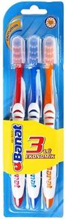 Banat Fırça Seti 3 lü Eko ürün resmi