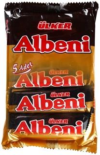 Albeni Çikolata Kaplı Bar 5 X 36 Gr ürün resmi