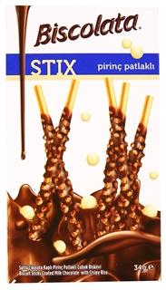 Picture of Şölen Biscolata Stix Pirinç Parcaçıklı 34 Gr