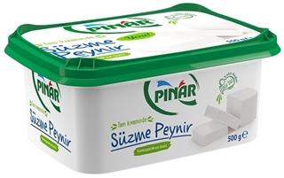Pınar Tam Yağlı Süzme Peynir 500 Gr ürün resmi