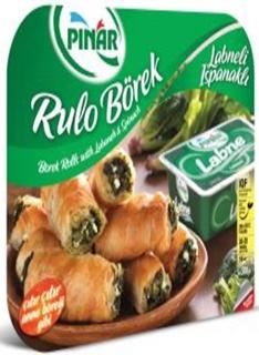 Pınar Labneli Ispanaklı Rulo Börek (Dondurulmuş) 14 Adet 500 gr ürün resmi