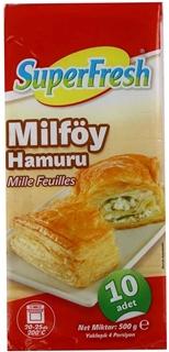 Superfresh Milföy Hamuru 500 gr ürün resmi
