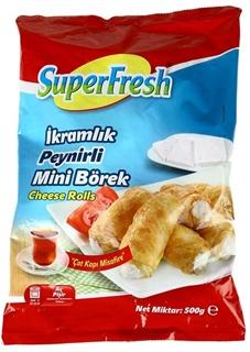 Superfresh Derin Dondurulmuş Peynirli Rulo İkramlık Börek 500 gr ürün resmi