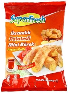 Picture of Superfresh Derin Dondurulmuş Patatesli Rulo İkramlık Börek 500 gr
