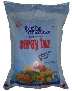 Saray Tuz İyotlu 3 kg ürün resmi