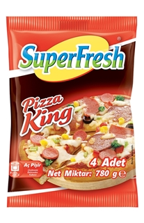 Picture of Superfresh Derin Dondurulmuş Pizza King 4 Adet 780 gr