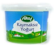 Resim Sütaş Kaymaksız Yoğurt 2 kg
