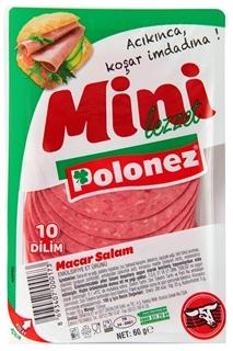 Polonez Dana Dilimli Macar Salam 60 gr ürün resmi
